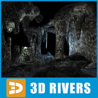 Underwater cave by 3DRivers