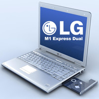 3d notebook lg m1 express