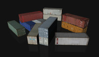 12 Cargo Containers