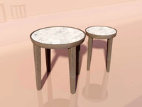 3d 3ds designer table dida