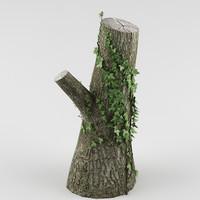 3d tree ivy