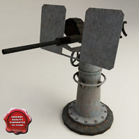 3d uss drum anti-aircraft guns