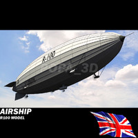 r-100 airship british air max