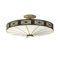 3d model of classic ceiling lamp