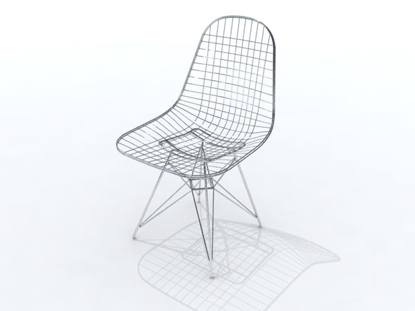 3d eames furniture for Icon mobel eames