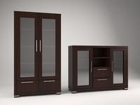 max showcase cabinet living