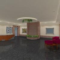 hall lounge max