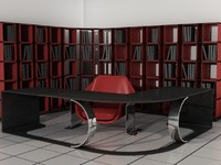 3d office set