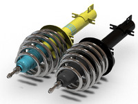 Bilstein car suspension
