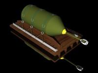 3d fuel bomb model