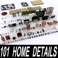home details 101 furniture 3d max