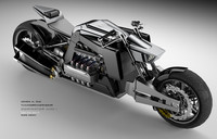 Dominator Concept Motorcycle