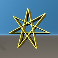 seven pointed star 3ds