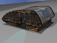 3dsmax driller sci-fi construction