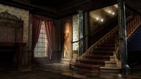 3d model victorian interior