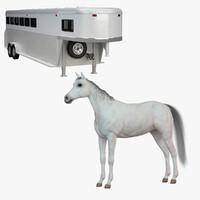 maya horse trailer