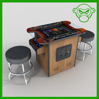 3ds max cocktail arcade