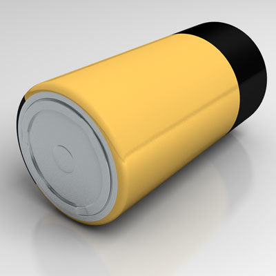 lwo d-cell battery - D-Cell Battery... by yeagerartist
