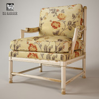 free armchair salda ke24 3d model