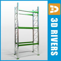 Pallet rack by 3DRivers