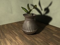 antique vase 3d model