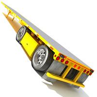 semi truck dxf