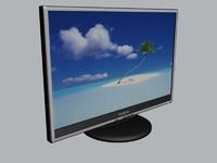 lcd display 3d max