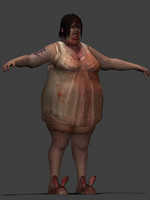 Fat woman Zombie.rar