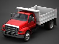 3dsmax dump truck
