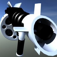 3d model marsec m4000 machine gun