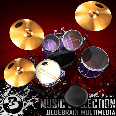 3ds max musical instrument - 01 - Music - Collection - 01... by BlueBrain