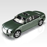 3d car chrysler 300 luxury