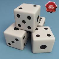 3d dice v2 model