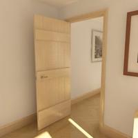 solid timber door max