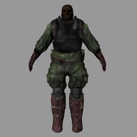 maya normal mapped soldier games