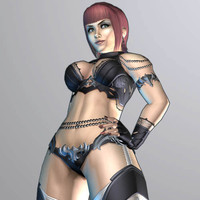 Fantasy Female Warrior