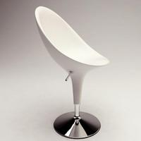 bombo chair 3d 3ds