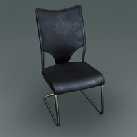 3d modern classic chair model