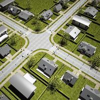 Township scene