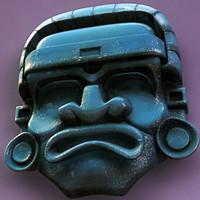 aztec medicine mask