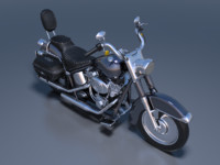 3d obj cruiser motorcycle cycle