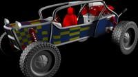 Buggy C4D r10