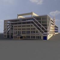 3d building 11