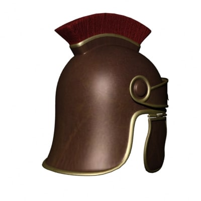 maya roman general helmet - Roman General Helmet... by mostlysquare