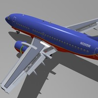 B 737-500 Southwest Airlines