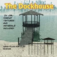 maya dockhouse piles