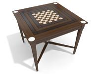 3d model table grange vintage