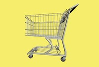 3d model grocery cart