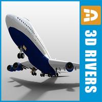 3ds b-747 look british airways