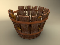obj old basket